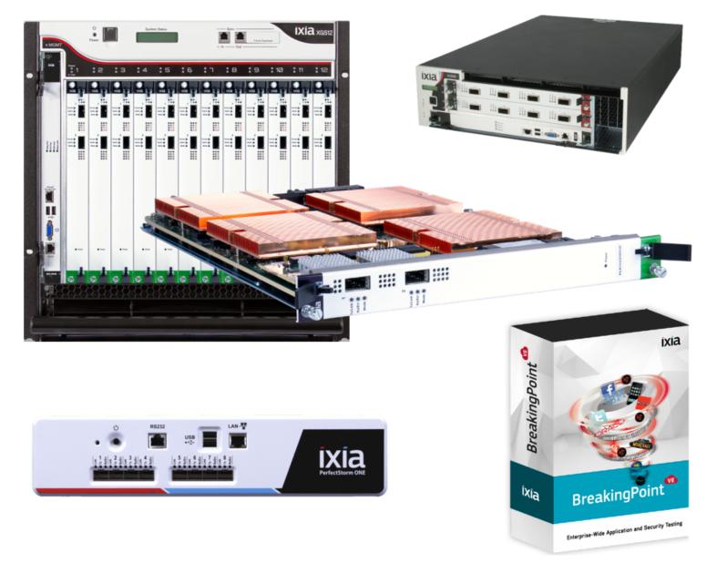 Тестирование устройств безопасности с BreakingPoint от IXIA
